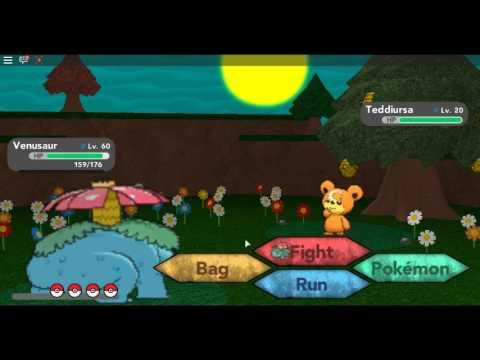 Pokemon Brick Bronze How To Get Teddiursa Youtube