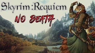 Skyrim - Requiem (без смертей, макс сложность) Каджит-убийца #3 Уроки иллюзии