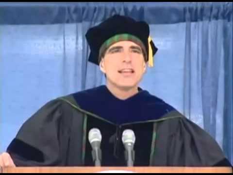 Dying College Professor Gives Inspiring Speech - German Version