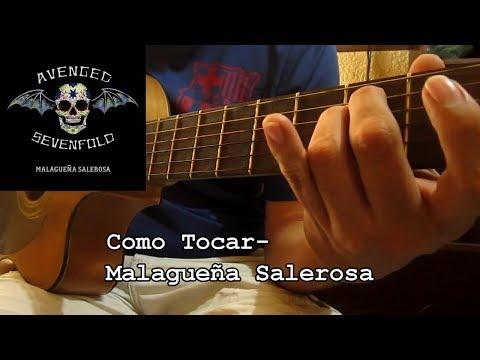 Como Tocar - Malagueña Salerosa - Avenged Sevenfold (Guitarra Ritmica)