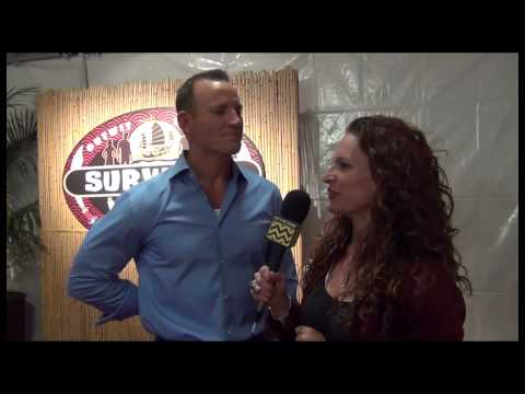 Suvivor: Blood vs Water Season Finale Red Carpet Interview with Brad Culpepper