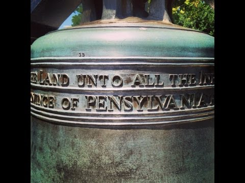 Ringing the liberty bell 2013
