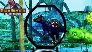 Динозавры Охотник на динозавров ЕЖЕНЕДЕЛЬКИ 5 регион Прохождение игры Dino hunter Passage video game