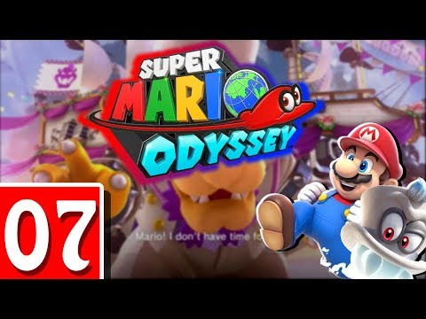 Super Mario Odyssey MULTIPLAYER EP7- Cloud / Lost Kingdoms! (2 Player / Switch)