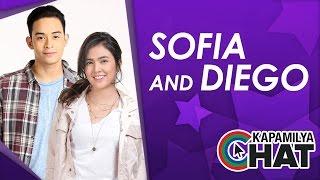 Video Kapamilya Chat with Sofia Andres and Diego Loyzaga for Pusong Ligaw download MP3, 3GP, MP4, WEBM, AVI, FLV Juli 2017