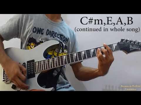 Tera Ghata (Gajendra Verma) - Guitar Chords Lesson+Cover, Strumming Pattern, Progressions