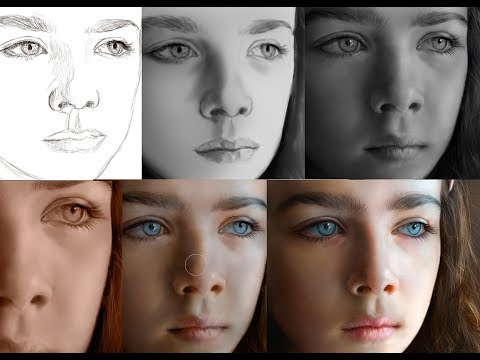 Digital Painting Hyper-Realism (freehand) in Photoshop