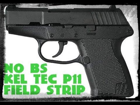 Kel-Tec P11 Field Strip