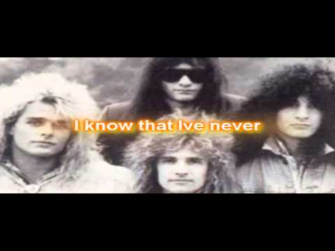 You're All I Need  - White Lion With Lyrics