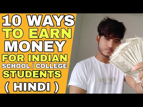 How To Earn Money For Indian Students | Hindi | How To Earn Money While Studying