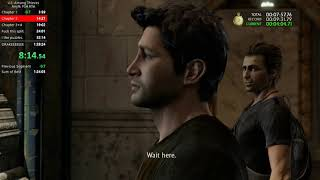Uncharted 2 Any% PS4 Speedrun 1:26:45