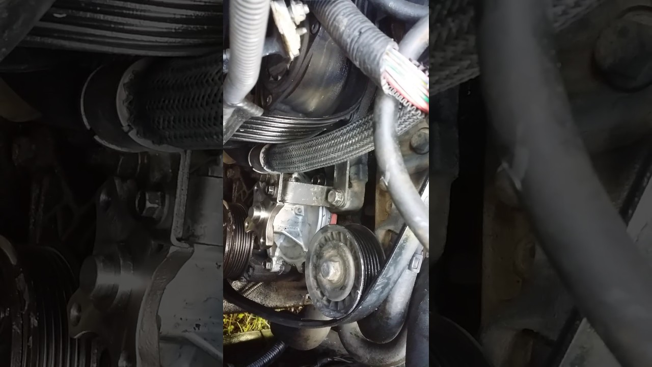 2006 chevy impala 3 9 water pump install youtube2006 chevy impala 3 9 water pump install