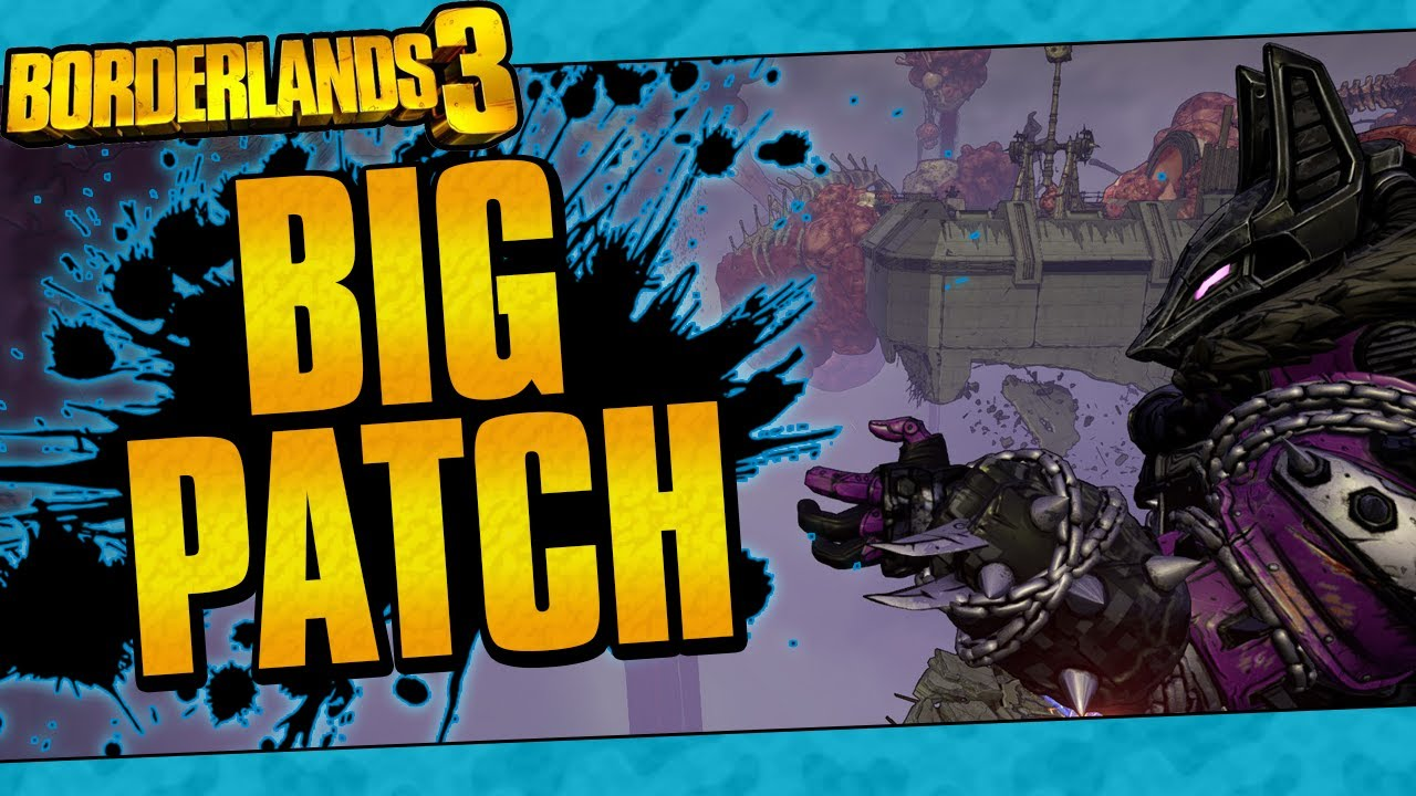 Borderlands 3   The Big Patch Is Here! (Vault Card 2 Released, Guardian Takedown Revamp, And More!)