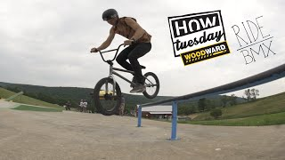 How-Tuesday: Feeble Over Easy 180's With Jamie Barnhart