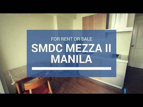 Mezza 2 Residences, SMDC Condo in Sta Mesa Manila For Sale ₱ 4M For Rent 20K/Mo