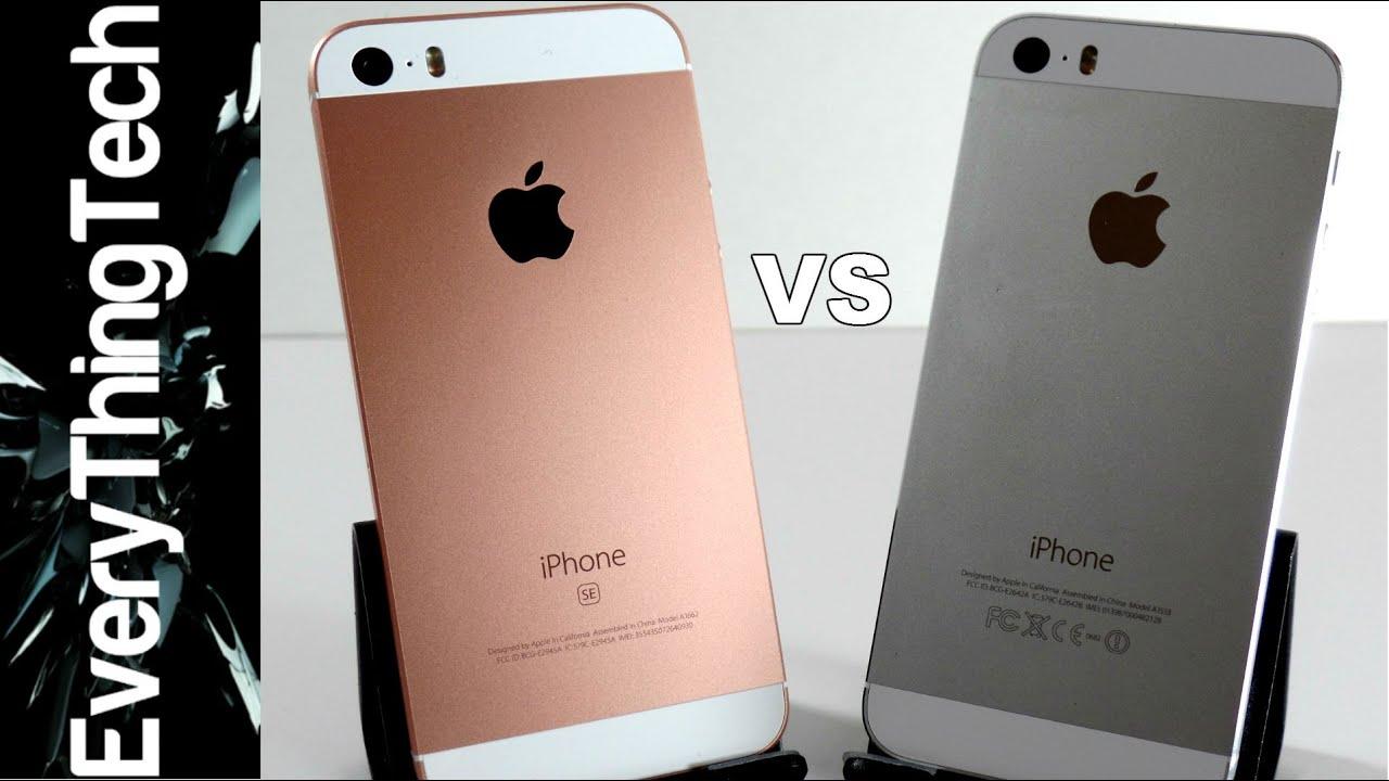 IPhone SE Vs 5s In Depth Comparison