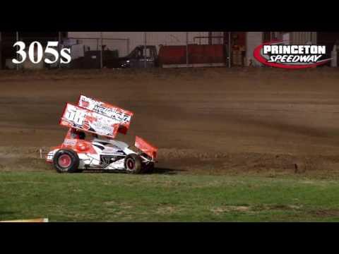 9-9-2016 305s Heat 1 Crashes Princeton Speedway
