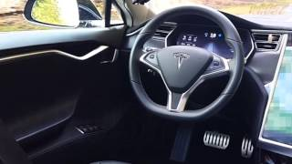 Tesla Autopilot Stunt w/driver in back seat - DO NOT ATTEMPT