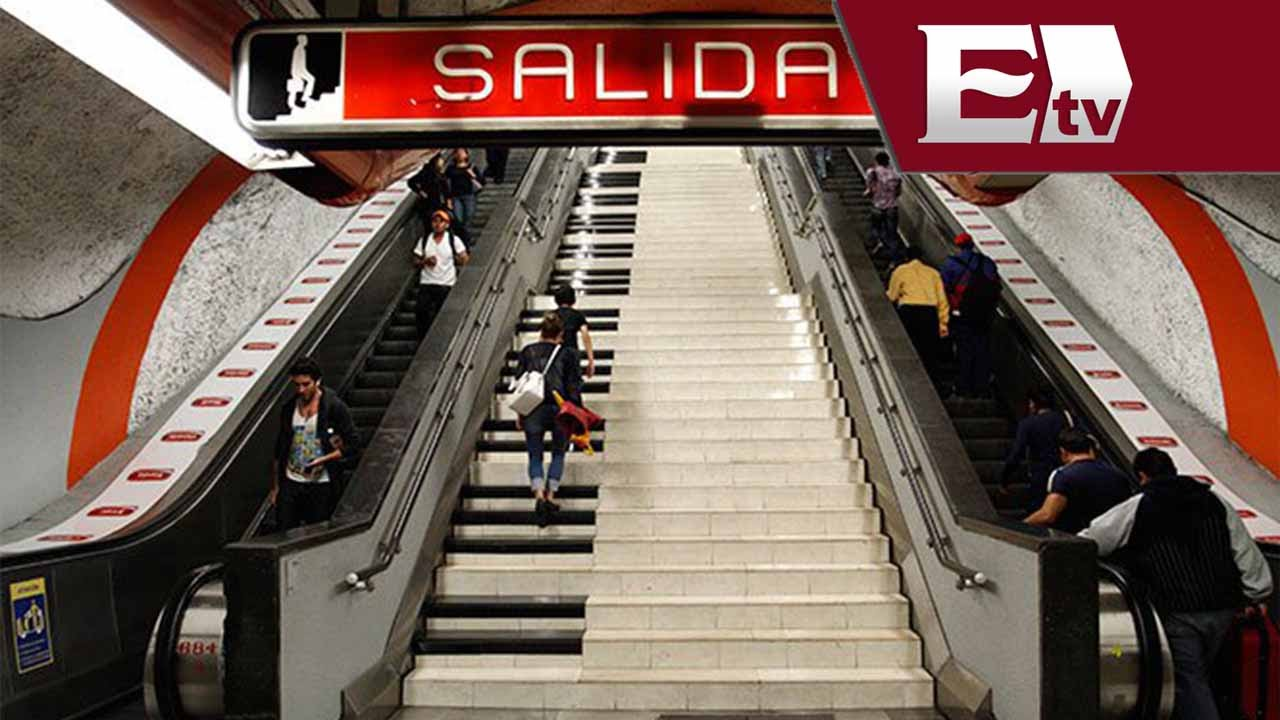 Convierten escaleras del metro polanco en piano gigante for Escaleras 4 metros