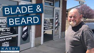 My Dad got 'Manscaped' in Mapleton!