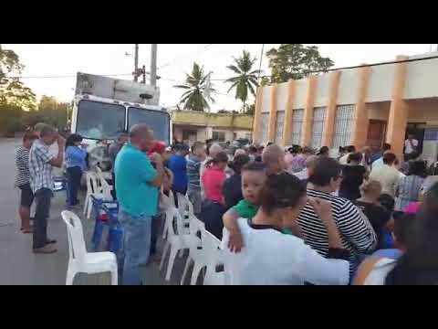 celebran Misa de Multitudes en el ayuntamiento municipal