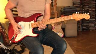 "2011 Fender Stratocaster Custom Shop ""57 Reissue Relic"", candy apple red / Part1"