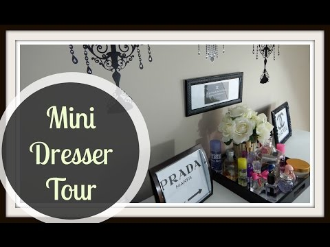 How to Decorate A Dresser! Quick, Easy, Inexpensive Tips!