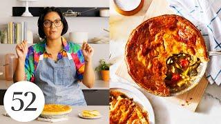 Sohlas One-Skillet Succotash Pot Pie   Food52 + All-Clad Cookware