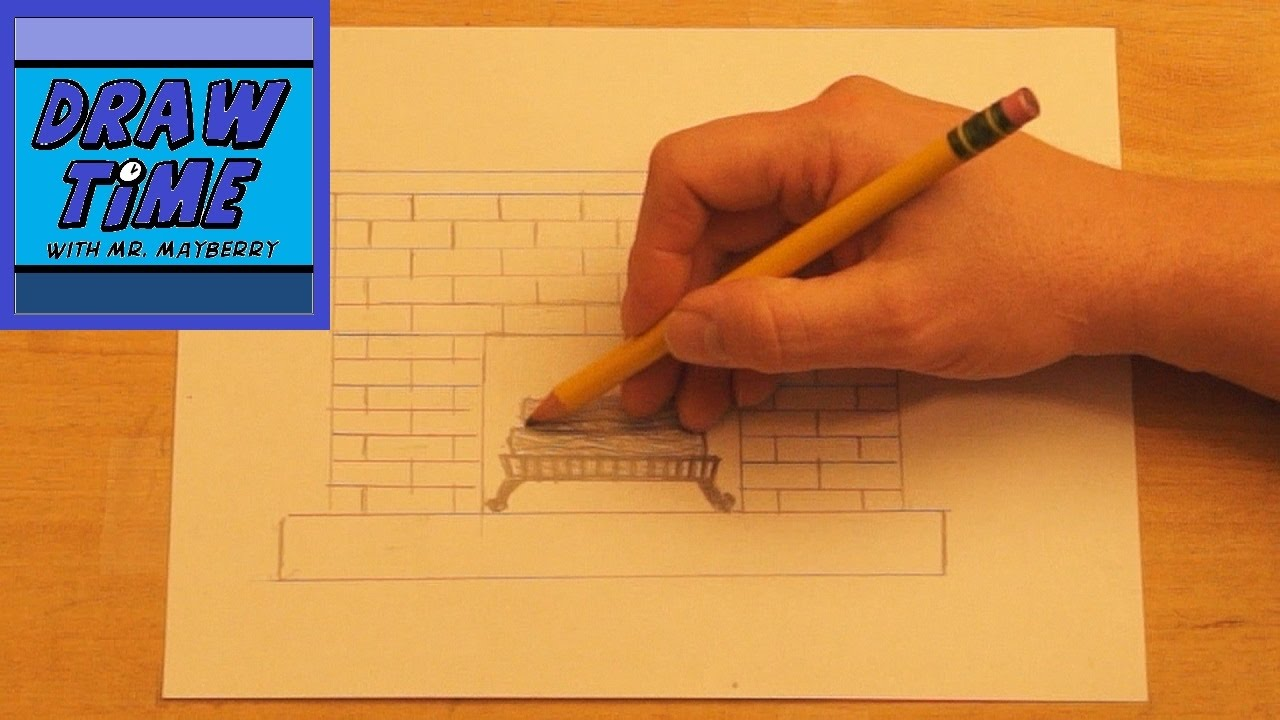 how to draw a fireplace youtube fireplace drawing dact us