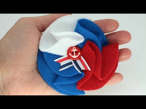 Make a Cute Nautical Style Brooch – DIY Style – Guidecentral
