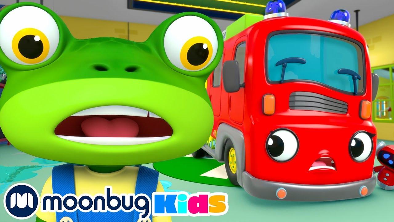 Gecko's Fire Truck Fun! | BRAND NEW Gecko's Garage | Kids Cartoons & Baby Videos