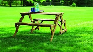 Review: Merry Garden Interchangeable Picnic Table And Garden Bench