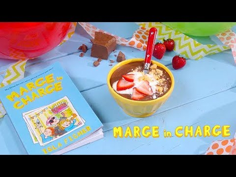 Chocolate Soup With Isla Fisher | MARGE IN CHARGE
