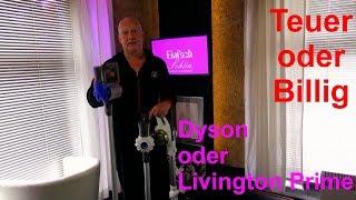 Dyson oder Livington Prime Akku Staubsauger - Der Test