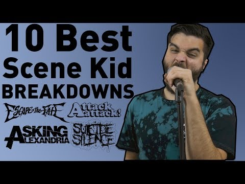10 Best Scene Kid Breakdowns