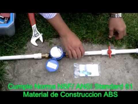 V lvula ahorro de agua youtube for Ahorro de agua