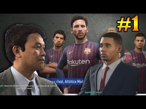 OFERTA MILLONARIA POR GABRIEL JESUS PARA GANAR LA CHAMPIONS LEAGUE - MODO CARRERA FIFA 19 thumbnail