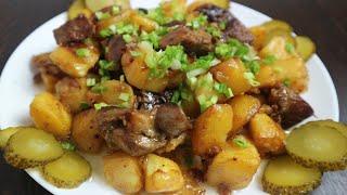 Жаркое по домашнему с картошкой и мясом