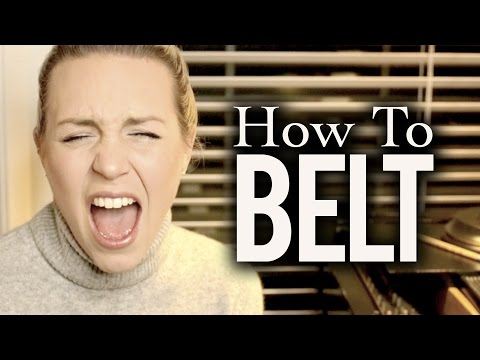 How to Belt - Evynne Hollens