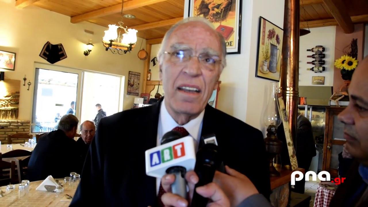 Βασίλης Λεβέντης από Τρίπολη: Το μήνυμα του λαού είναι ότι δεν θέλει τον δικομματισμό.