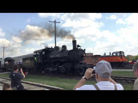 Highlights of the 2017 Monticello Railway Museum Railroad Days Monticello, IL 09/16/17 (1/2)