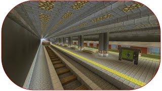 Minecraft ★ City of the Community - Großes Projekt ★ U-Bahn Station / Teil. 18 / Deutsch