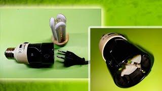 JAK ZROBIĆ - Gniazdo do podłączenia urządzeń do gniazdka oświetleniowego - Life hack dla domu