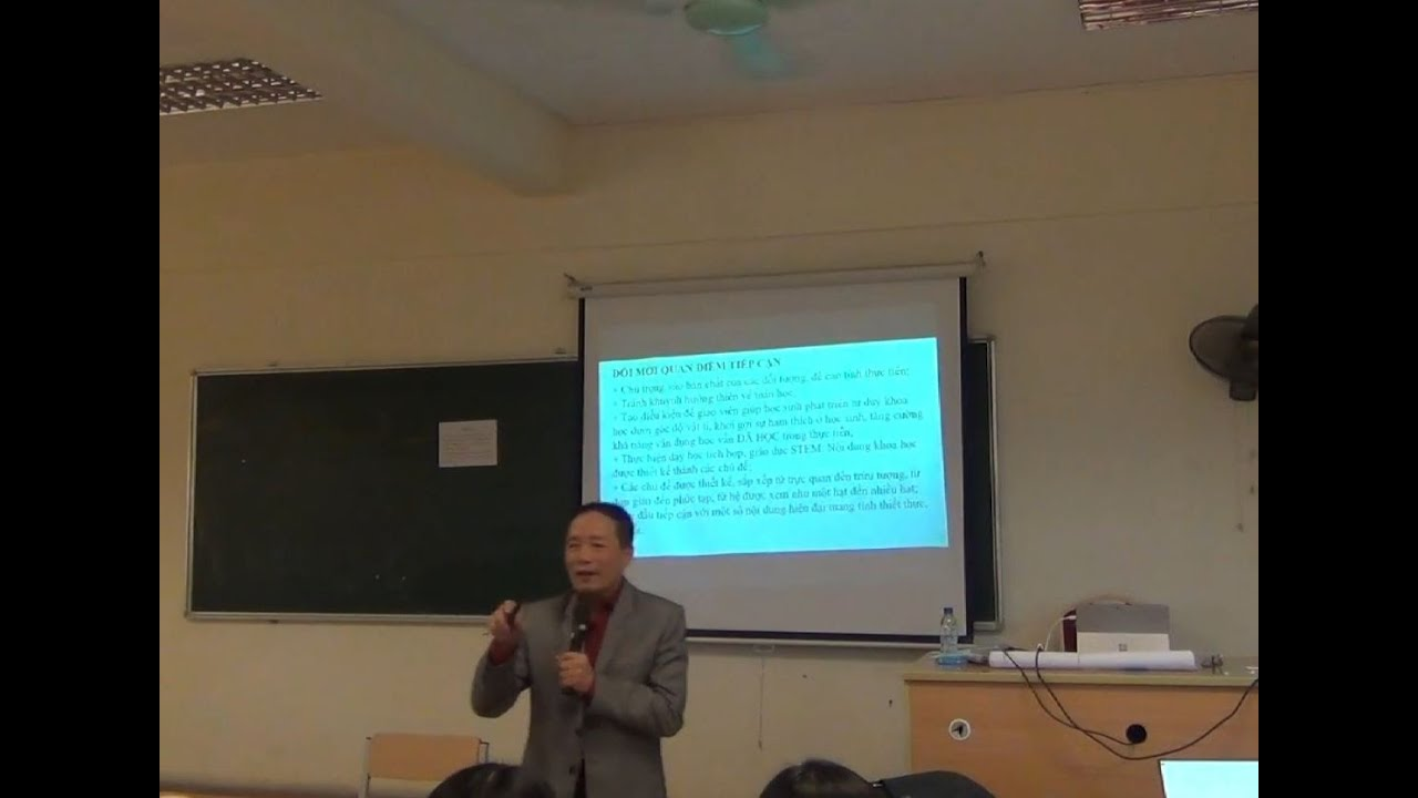 Dạy học CT Vật lí phổ thông 2018 Phần 1 – PGS.TS. Nguyễn Văn Khánh
