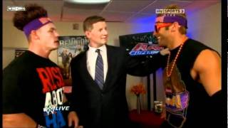 Funny John Cena moment with Zack Ryder & John Laurinaitis
