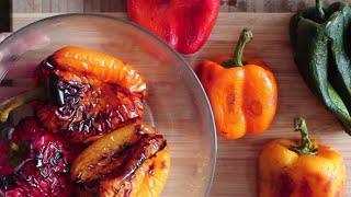 3 méthodes pour griller des poivrons