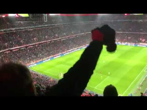 LFC FANS SING VIRGIL VAN DIJK SONG AT THE ALLIANZ ARENA | Liverpool FC Chants