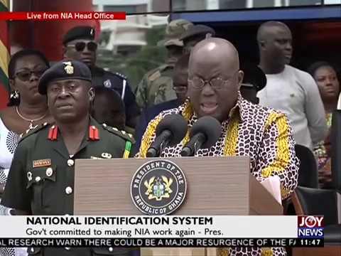 National Identification System - News Desk on Joy News (15-9-17)