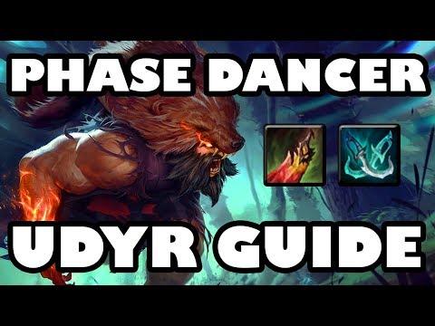Phase Dancer Tiger | Lifesteal Movespeed Udyr Jungle Guide [8.5]