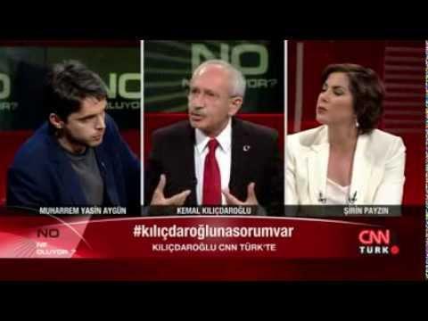 Kemal Kılıçdaroğlu, Şirin Payzın'ın sorularını yanıtladı: Ne Oluyor - 15.03.2014